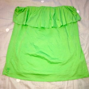 Lilly Pulitzer Tops - Lily Pulitzer XL Green Wiley Top
